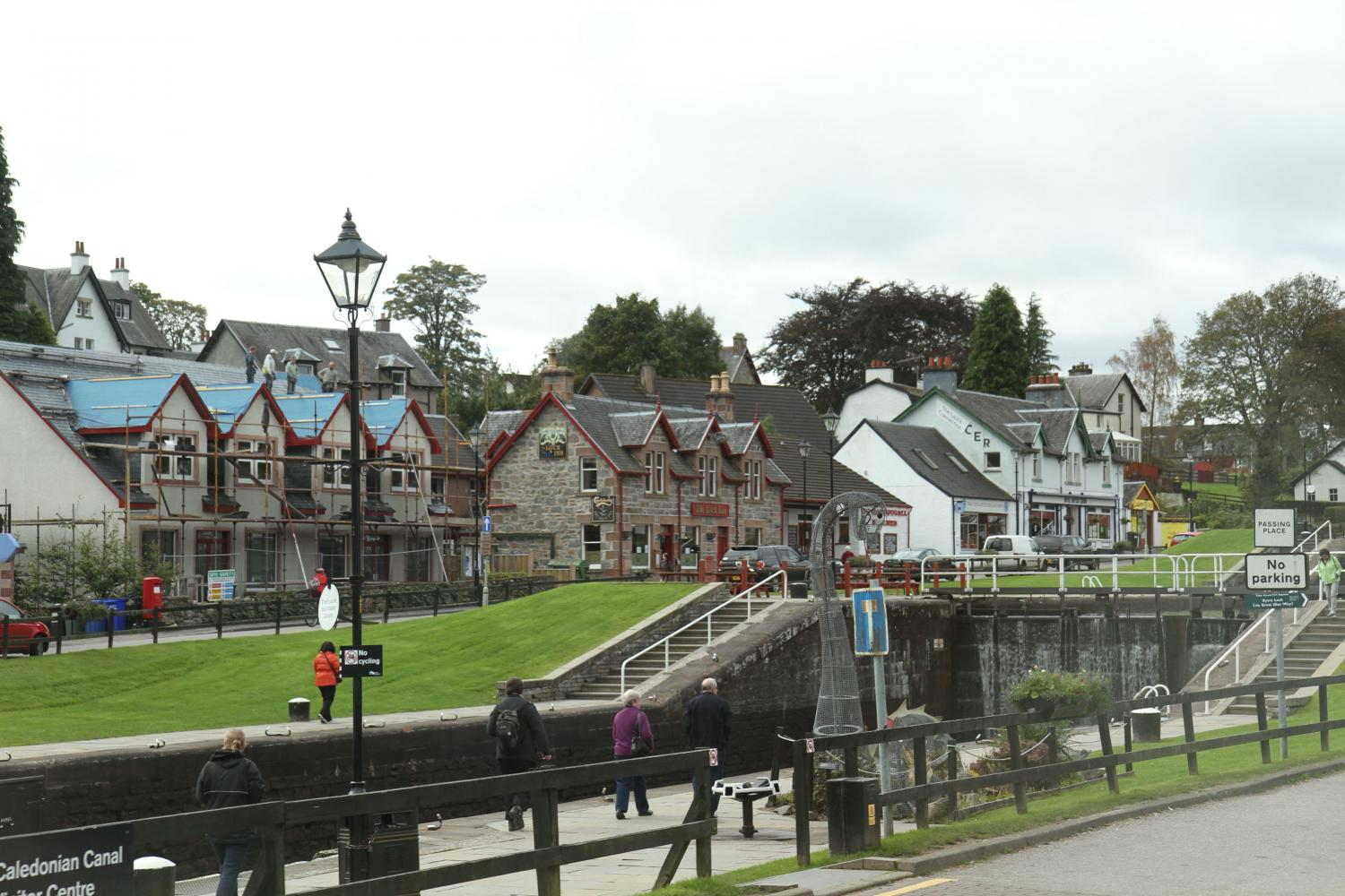 Caledonian Canal bei Fort Augustus